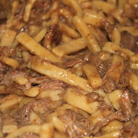 Crock-Pot Beef and Noodles