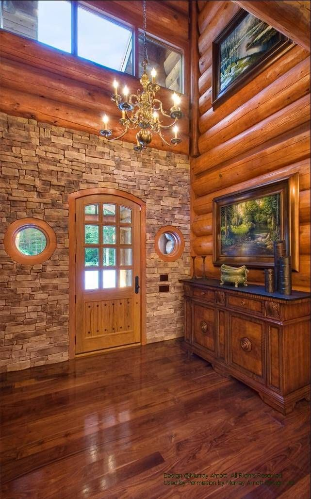 Log Home Foyer : Best images about cabins foyers on pinterest log