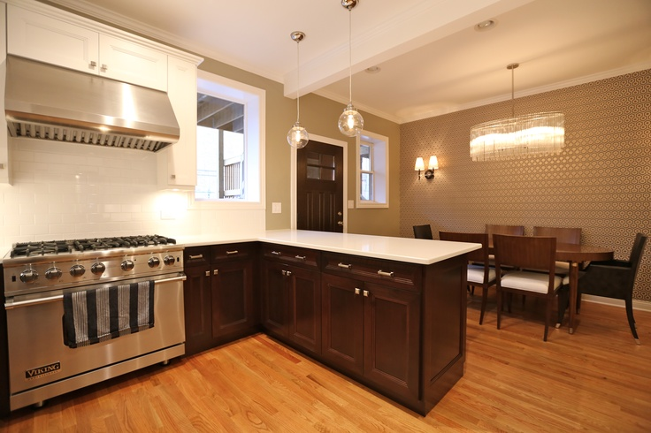 Combined Dining Room And Kitchen Kitchen Remodeling