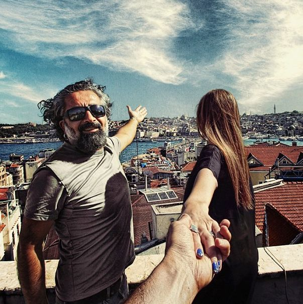 Best Photographers Girlfriend Leads Him Around The World - Guy takes awesome photos girlfriend tugs along