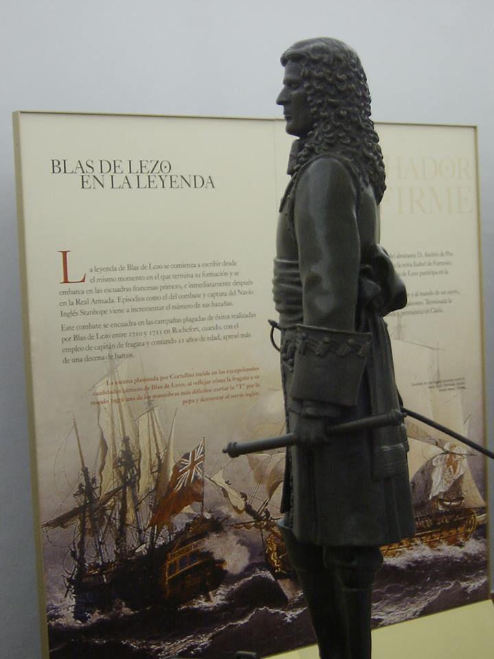 Blas de Lezo, el Teniente General de la Armada D. Blas de Lezo y Olavarrieta, insigne e invencible marino, héroe, entre otras,  de la Batalla de Cartagena de Indias en la que la flota inglesa sufrió una humillante derrota en el año 1741. (https://www.facebook.com/groups/27486182069/)