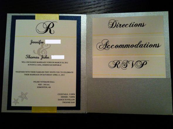 133 best invitations images on pinterest letter fonts wedding my diy pocketfolds wedding invite inside solutioingenieria Images