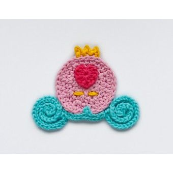 Cinderella Carriage Applique Crochet: Cinderella Carriage, Applies Hook, Crochet Patterns, Craft Ideas, Wall Hook, Aplique Hook