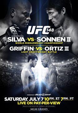 Os 10 melhores pôsteres do UFC (UFC 148 - Silva vs Sonnen II)