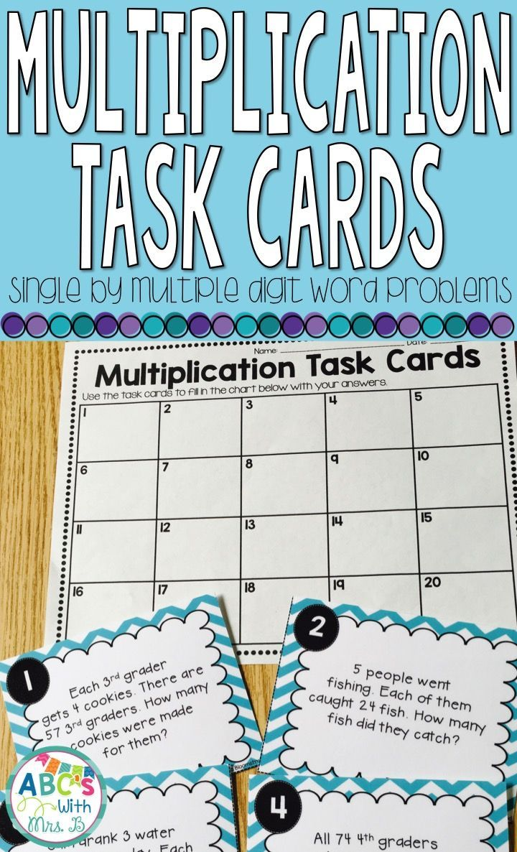 57 best Task cards images on Pinterest | Task cards, 4th grade math ...