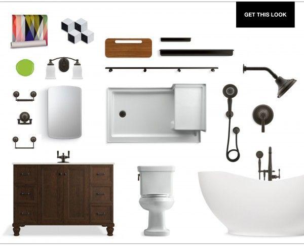 Bathroom Fixtures Colors 269 best bathroom designs images on pinterest | bathroom designs