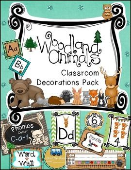 I am doing a forest theme in my classroom this year! This bundle contains just a few of many products that I will be creating this summer and I wanted to share with you. This is a growing bundle. So buy today at this price, then as the price goes up when the bundle expands in the future-You will get all the new items for free!!!!!!!!