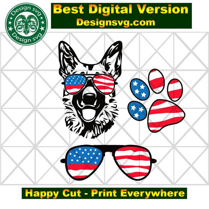 Download Dog american flag,independence day svg, independence day ...