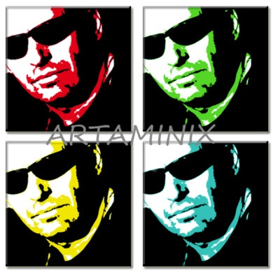 Vasco Rossi #pop #art #famous #star #portrait #ritratto #rock #italia #twitter