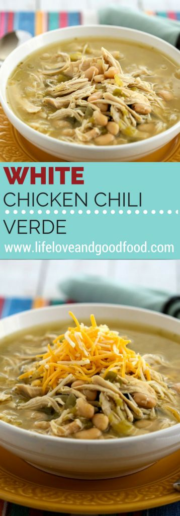 White Chicken Chili Verde | Life, Love, and Good Food