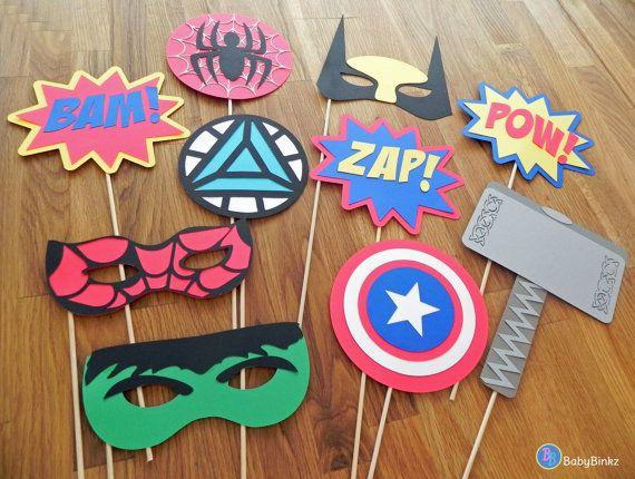 Photo accessoires Le Marvel Super Hero Set 10 pièces par BabyBinkz