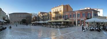 Constituion or main square of Nauplion.