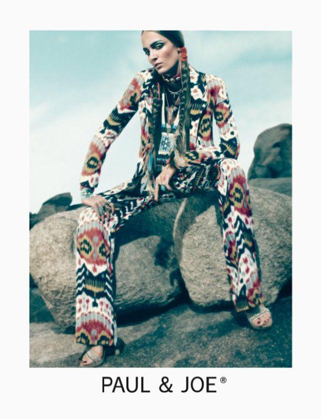 Zuzanna Bijoch | Mikael Jansson #photography | Paul & Joe S/S 2012 Campaign | #bohemian #boho #hippie #gypsy