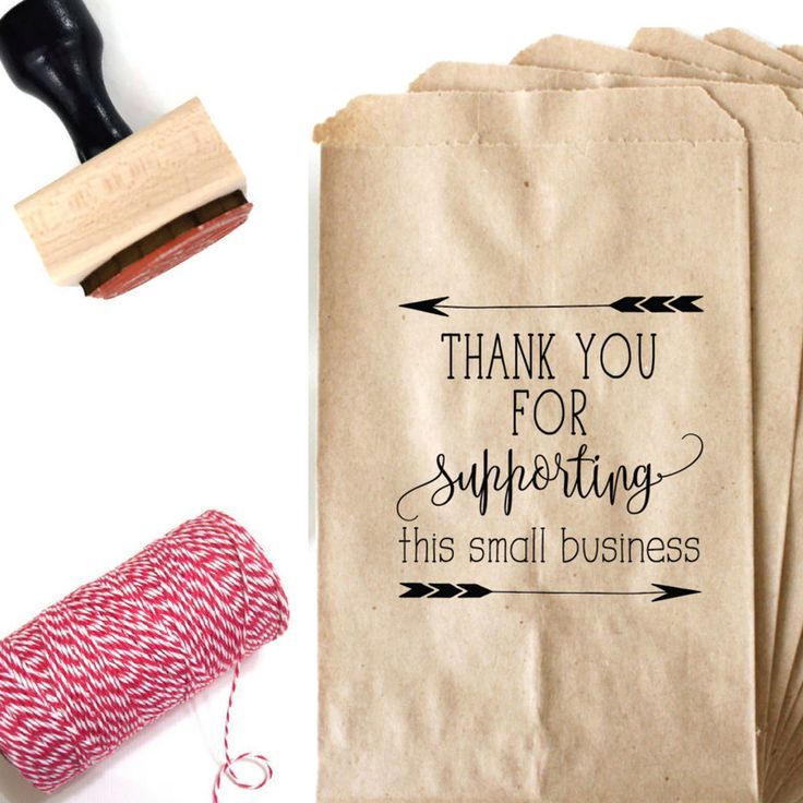 Small Business Stamp - Thank You Stamp - Thank You For Supporting Small Business Packaging Stamp - Shipping Stamp - Etsy Shop Stamp Branding by SouthernPaperAndInk on Etsy