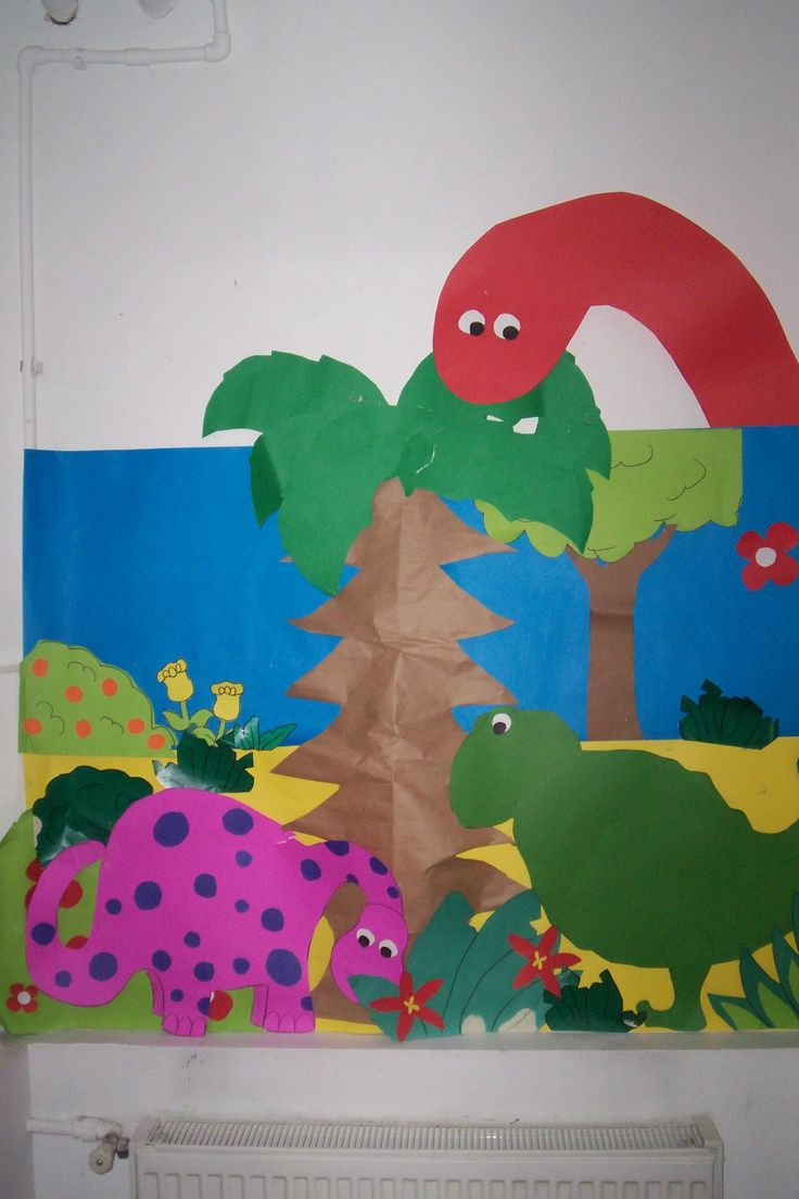 Dinosaur theme board