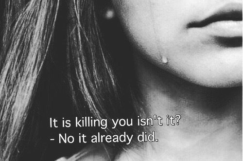 Society killed the teenager ✌️