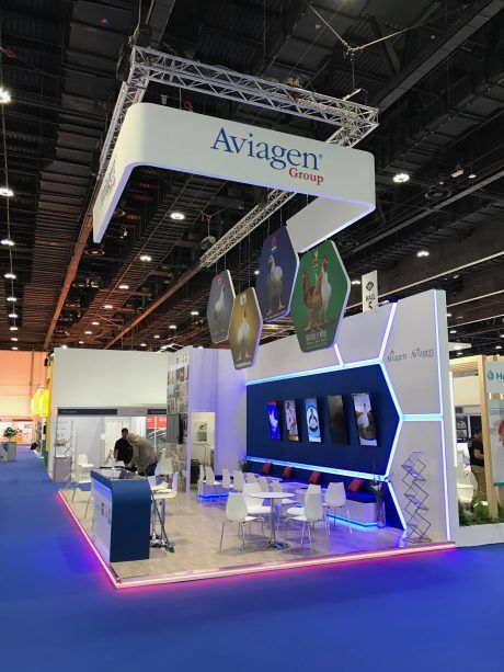 Exhibition Stand Design Abu Dhabi : Exhibition stand design and build at viv mea adnec abu dha