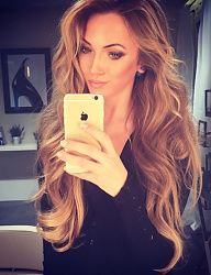 Long golden blonde hair Shes flawless