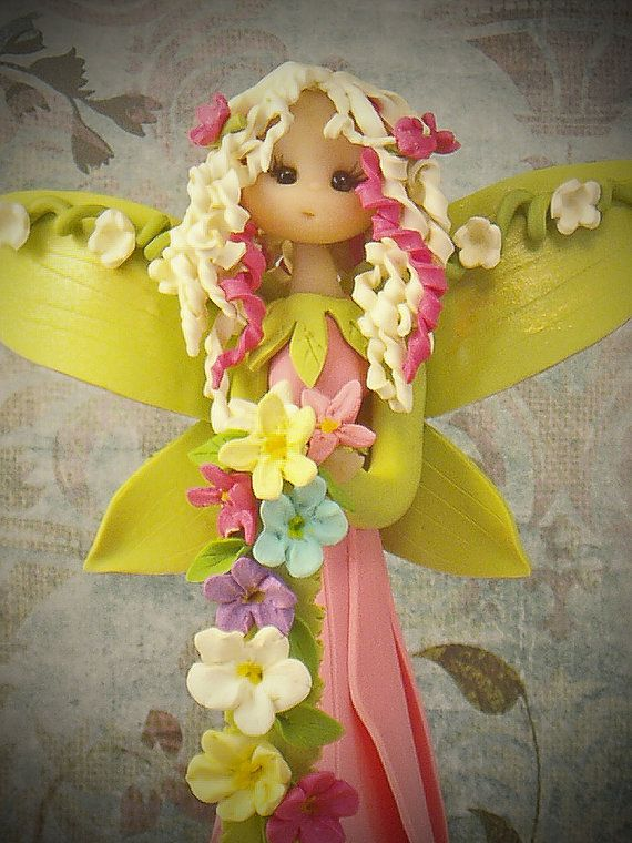 Spring Fairy by fairiesbynuria on Etsy, $39.95