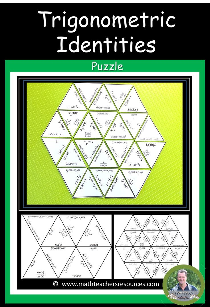 This Precalculus Activity Is Designed For Students To Practice Recognizing And Simplifying Trigonometric Precalculus Activities Math Projects Math Lesson Plans