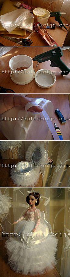 Кукла-шкатулка своими руками | Своими руками