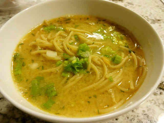 味噌ラーメンのスープ by おちゃびさま