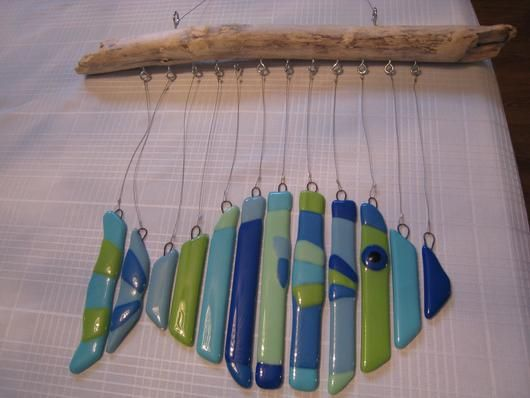 How To Make You Own Glass Wind Chime - Essortment Articles: Free