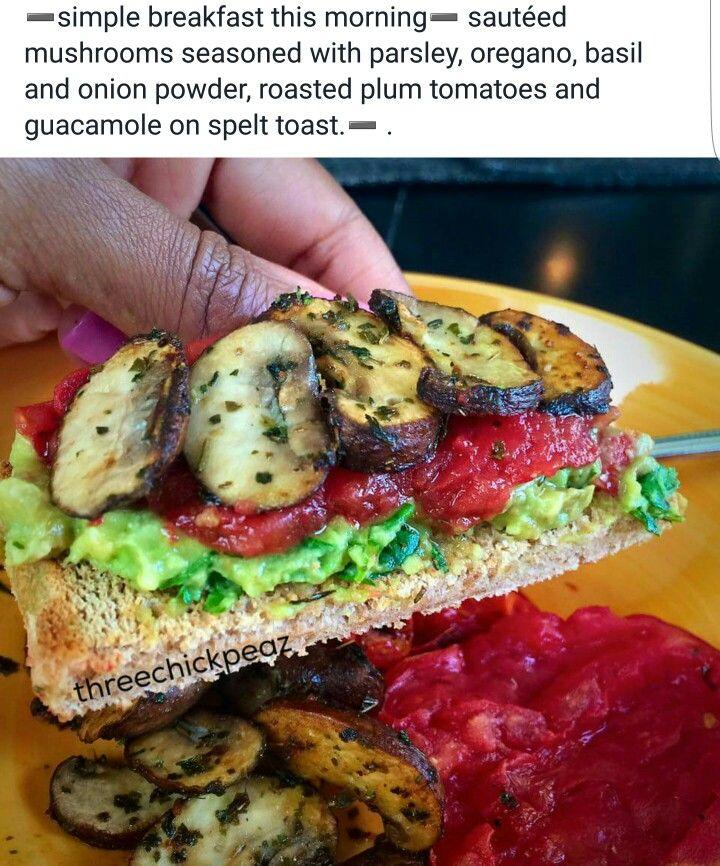 Alkaline breakfast sandwich