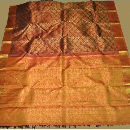 Kanchipuram Pure Silk Saree (KNC-VKM-003)