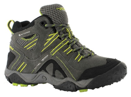 Hi-Tec TT Mid WP Jr. Kids Hiking Boots - Get three more months of wear with the BigFit contoured insole system