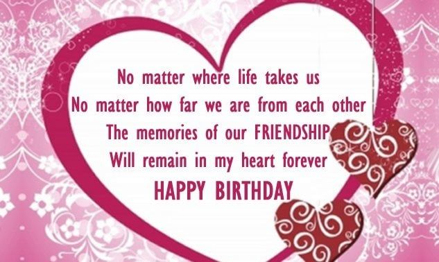 Happy Birthday Wishes For Best Friend Forever Cute Birthday Wishes Birthday Message For Bestfriend Birthday Quotes For Best Friend