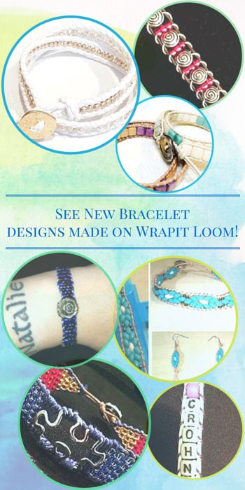See New Bracelet designs made on Wrapit Loom - Buy Wrapit Loom here. - Watch tutorials for step by step directions on making beaded friendship bracelets with Wrapit Loom all at loomnbands.com