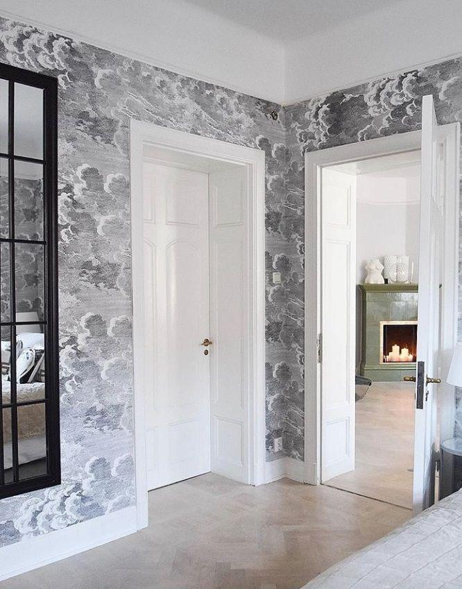 nuvolette wallpaper in 2019 fornasetti design wallpaper rh pinterest com