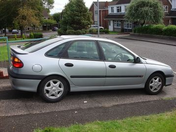 Then I moved on to a Renault Laguna when Megan came along.