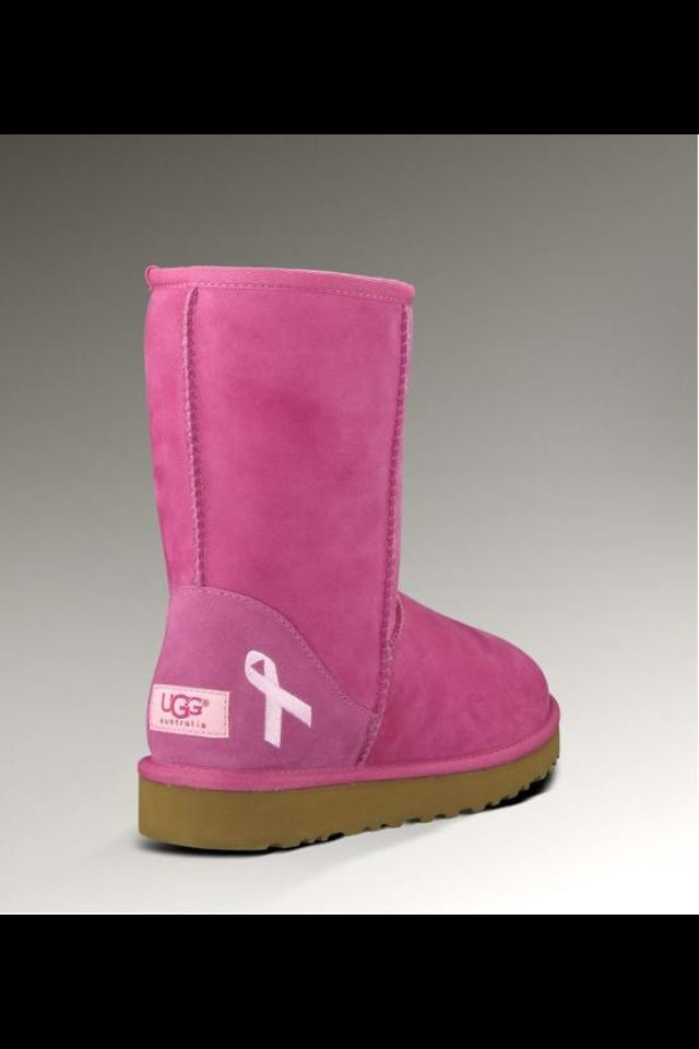 pink breast cancer awareness ugg boots. Black Bedroom Furniture Sets. Home Design Ideas