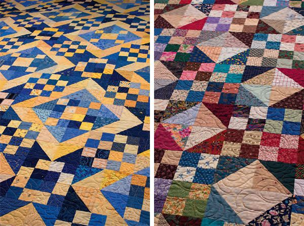 Got a bagful, a few drawers full, or a room full of scraps? Today we're sharing scrap-quilt ideas with one important consideration in mind: choosing blocks that are perfect for the scrappy approach.