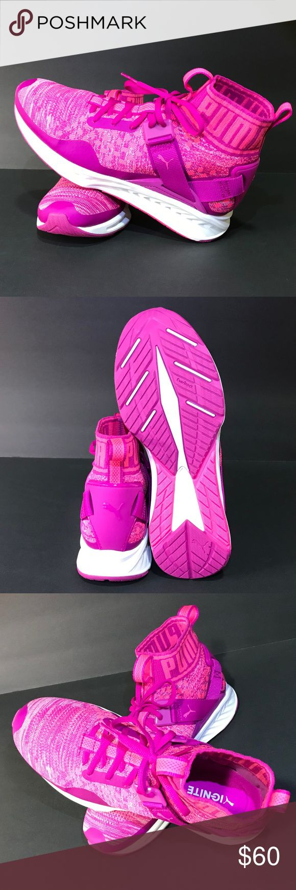 Puma Ignite Evoknit JR BRAND NEW!!! Puma Evoknit. Youth size 7/Women's size 9. Super comfy! Great for working out, running or just everyday! No box. Great buy!!! Puma Shoes Sneakers