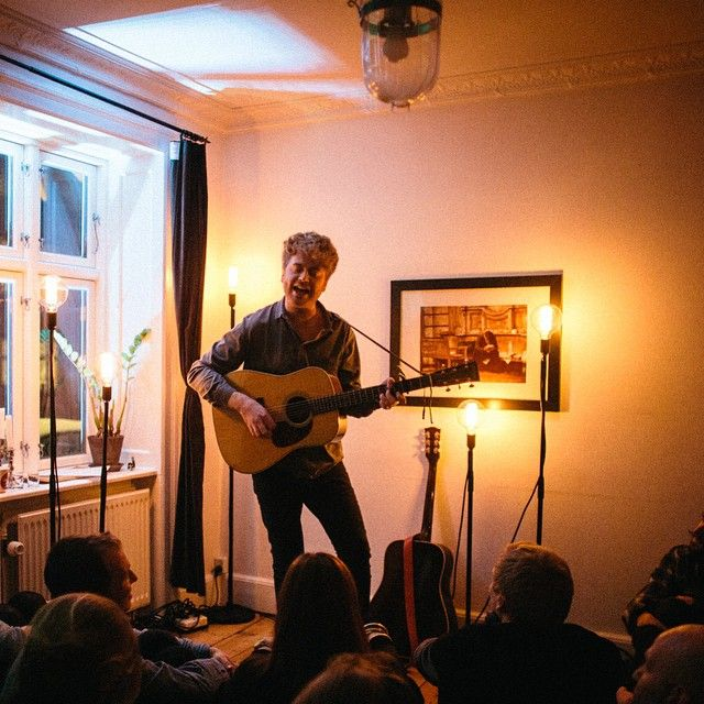 Christian Hjelm @ Anna Lisa & Gustavs place