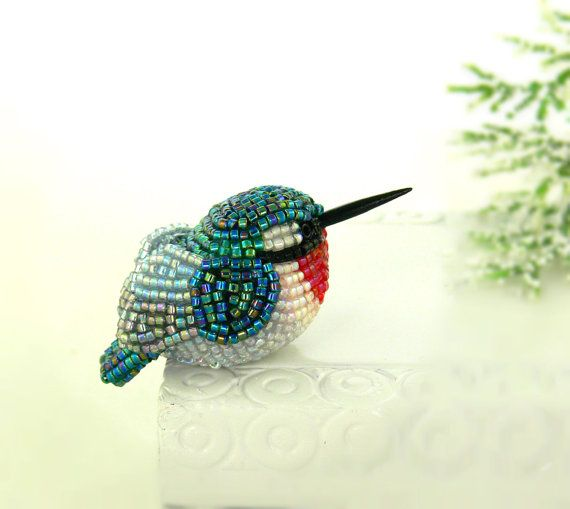 *Hummingbird is READY TO SHIP and will ship out in 1 to 2 business days from time of purchase  For many, the hummingbird represents joy and the