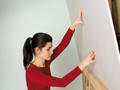 How to Hang Drywall - This will be good to know for finishing our garage this summer.
