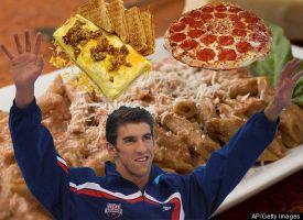 Michael Phelps: 12,000 Calorie Extravaganza