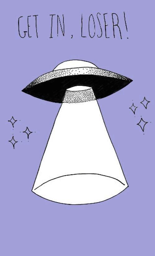 Imagen de alien, wallpaper, and ufo