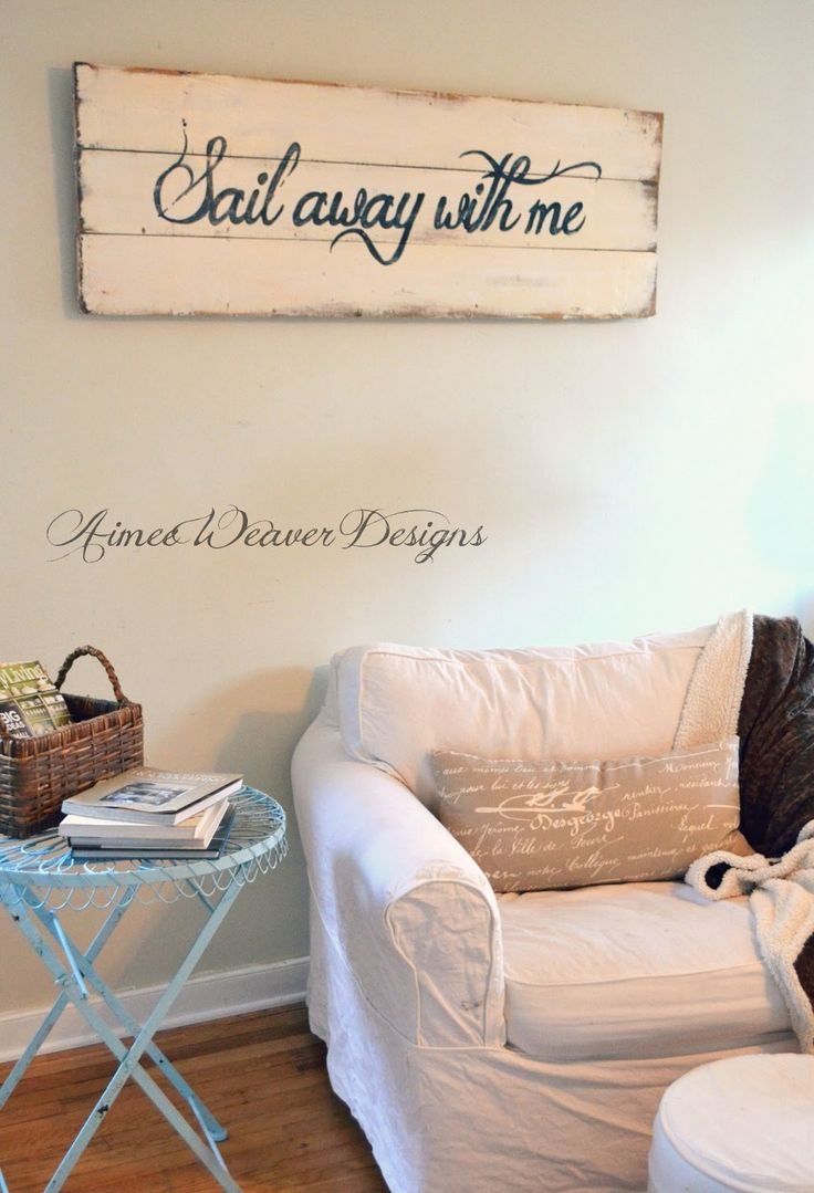 Best 25 nautical signs ideas on pinterest nautical sayings sail away with menautical living room amipublicfo Gallery