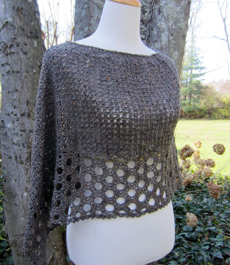 Kelley's Ponchito By Julie Blagojevich - Free Crochet Pattern - (ravelry) ~ k8~