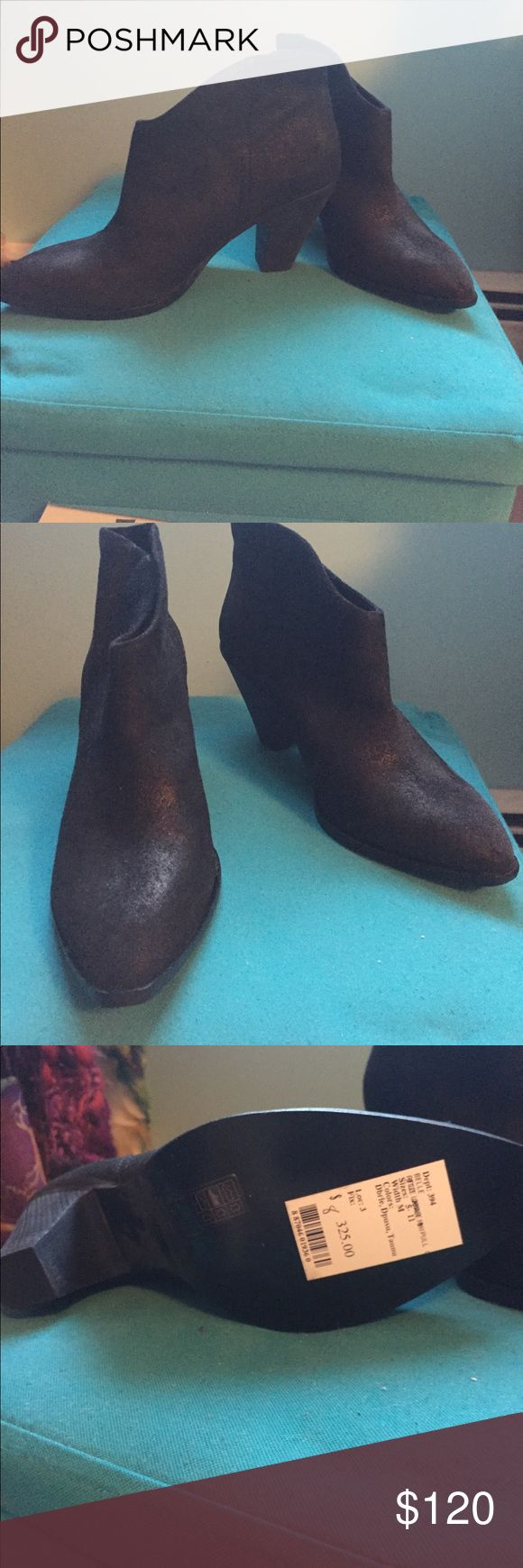 Belle black booties Black Belle suede booties. Size 8. Never worn. Belle by Sigerson Morrison Shoes Ankle Boots & Booties