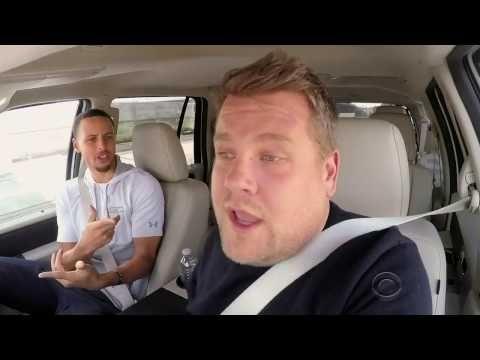 YouTube Steph Curry car pool karaoke