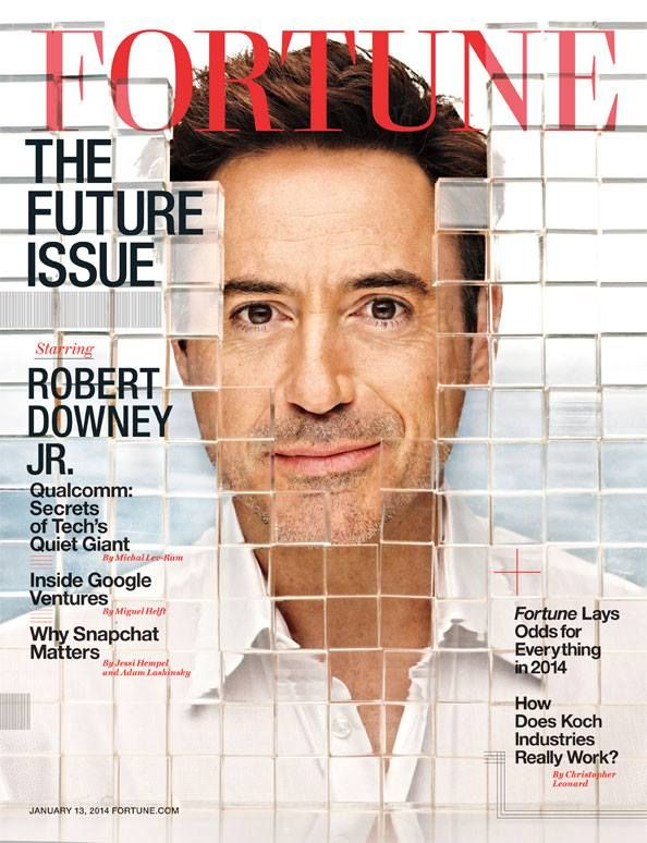 robert downey jr cover of fortune magazine january 13 2014