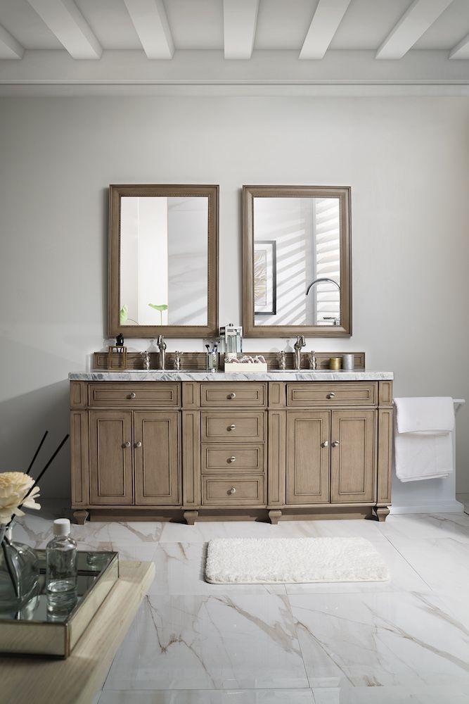james martin furniture bristol 72 double vanity white washed rh pinterest com