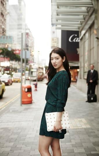 Park Shin Hye in Paris!