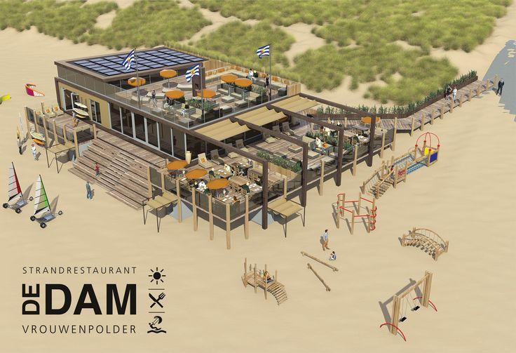 De DAM Strandrestaurant Vrouwenpolder  de-dam.nl